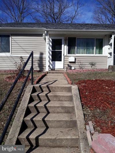 Landover Single Family Home For Sale: 7716 Oxman Road