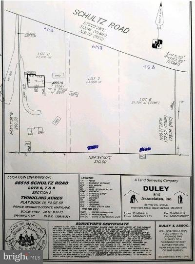 Clinton Residential Lots & Land For Sale: 8512 Schultz Road