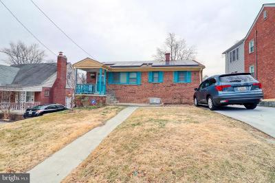Hyattsville Single Family Home Under Contract: 5405 15th Avenue