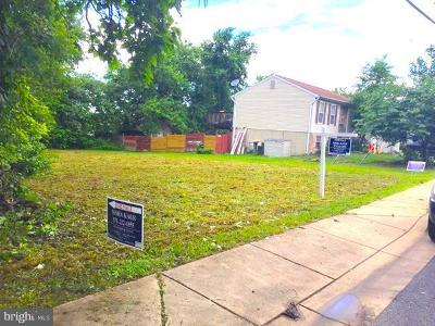 Capitol Heights Residential Lots & Land For Sale: 612 61st Avenue