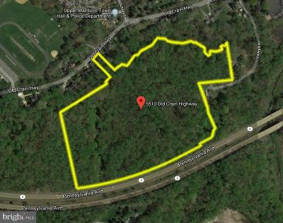 Upper Marlboro Residential Lots & Land For Auction: 5510 Old Crain Highway