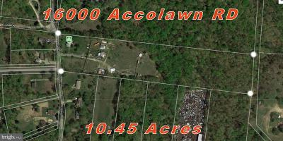 Anne Arundel County, Calvert County, Charles County, Prince Georges County, Saint Marys County Single Family Home For Sale: 16000 Accolawn Road