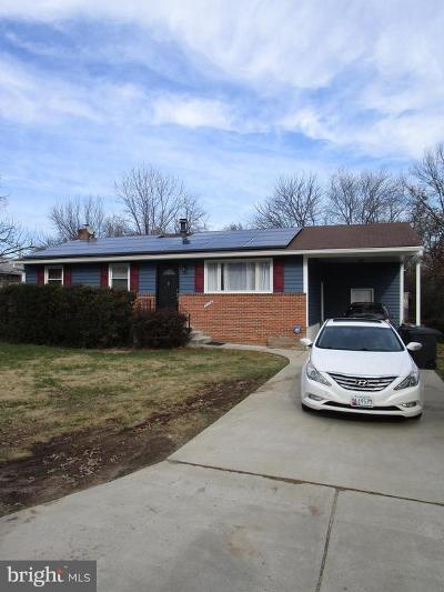 Laurel Rental For Rent: 8404 Spruce Hill Drive