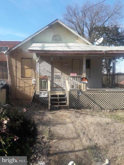 Capitol Heights Single Family Home For Sale: 6168 Central Avenue