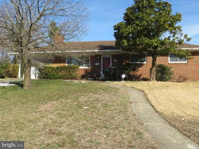 Suitland Single Family Home Under Contract: 2416 Fort Drive