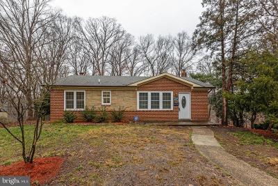 Suitland Single Family Home For Sale: 6512 Clayton Lane Drive