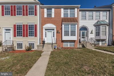 Bowie Townhouse Under Contract: 917 Lake Overlook Drive