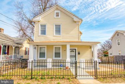 Capitol Heights Single Family Home For Sale: 5944 Addison Road