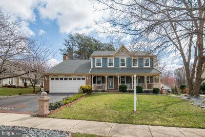 Bowie Single Family Home Under Contract: 13902 Pleasant View Drive