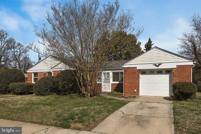 Hyattsville Single Family Home For Sale: 2400 Griffen Street