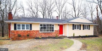 Upper Marlboro Single Family Home Under Contract: 8003 Croom Road