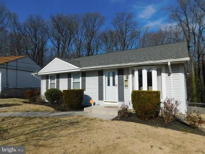 Suitland Single Family Home Active Under Contract: 4814 Tangier Place