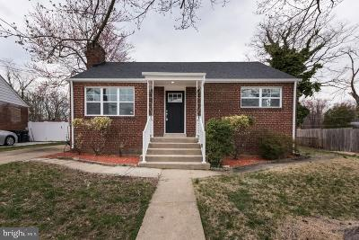Temple Hills Single Family Home For Sale: 2705 Lime Street