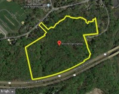 Upper Marlboro Residential Lots & Land For Sale: 5510 Old Crain Highway