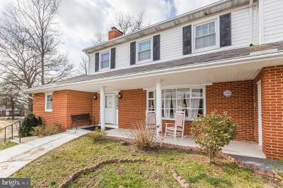 Temple Hills Single Family Home For Sale: 6917 Allentown Road