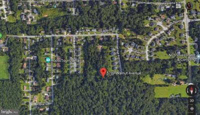 Lanham Residential Lots & Land For Sale: 5707 Walnut Avenue