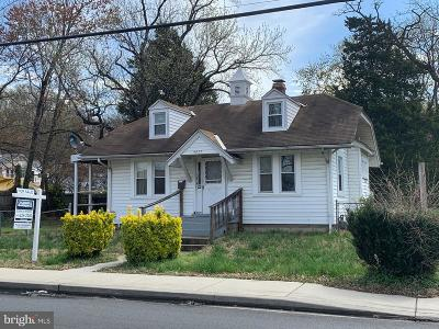 Hyattsville Single Family Home For Sale: 4807 Edmonston Road