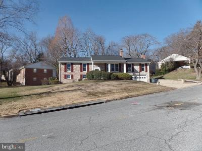 Upper Marlboro Single Family Home For Sale: 8405 Wexford Road