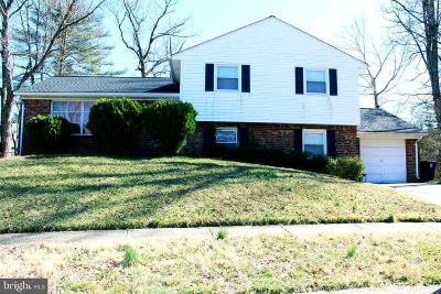 Upper Marlboro Single Family Home For Sale: 406 Richton Court