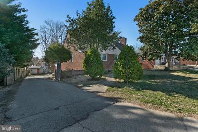 Hyattsville Single Family Home For Sale: 7206 Adelphi Road
