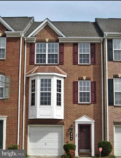 Upper Marlboro Townhouse For Sale: 604 Anoosh Court