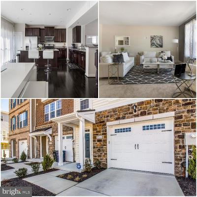 Upper Marlboro Townhouse For Sale: 4804 Six Forks Drive