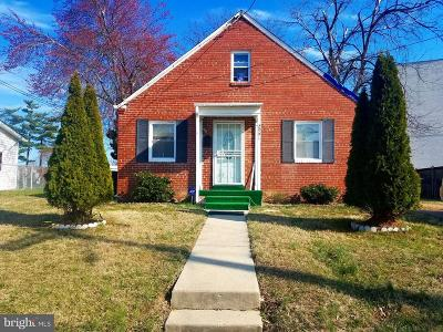 Temple Hills Single Family Home Under Contract: 2901 Colebrooke Drive
