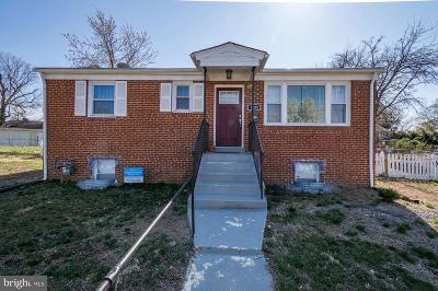 Oxon Hill Single Family Home Under Contract: 1105 Vinson Street