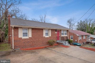 Capitol Heights Single Family Home For Sale: 1123 Jansen Avenue