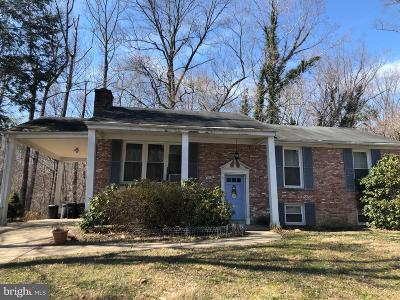 Upper Marlboro Single Family Home Under Contract: 11707 N Marlton Avenue