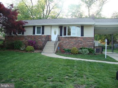 Bowie Single Family Home For Sale: 7002 Old Chapel Drive
