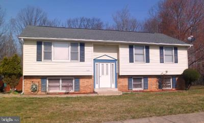 Fort Washington Single Family Home Active Under Contract: 7300 Webster Turn