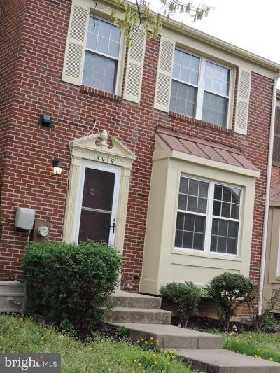 Laurel Townhouse For Sale: 14919 Ashford Place