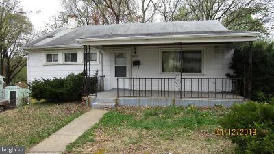 Hyattsville Single Family Home For Sale: 4832 67th Avenue