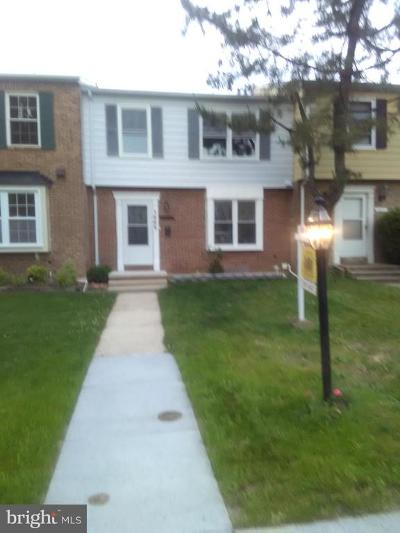 District Heights Townhouse For Sale: 1669 Tulip Avenue