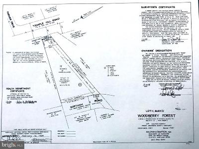 Temple Hills Residential Lots & Land For Sale: 6818 Temple Hill Road