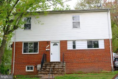 Hyattsville MD Single Family Home For Sale: $370,000