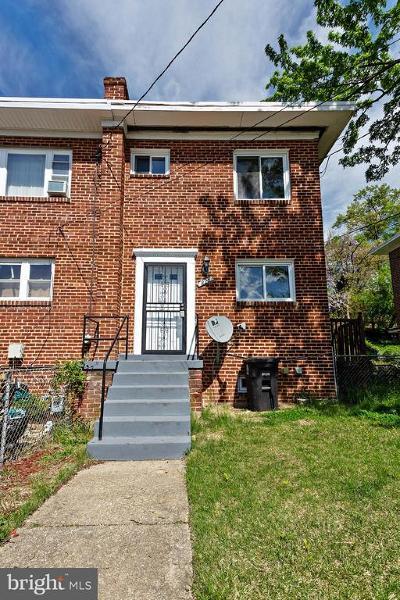 Oxon Hill Townhouse Under Contract: 828 Neptune Avenue