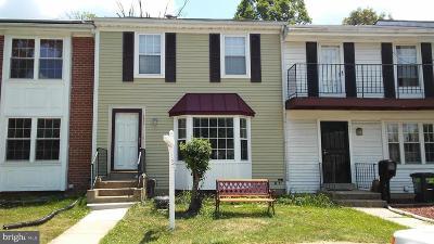 Laurel Townhouse For Sale: 8483 Snowden Oaks Place