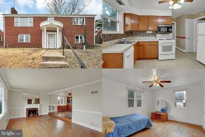 Oxon Hill Single Family Home For Sale: 5812 Woodland Drive