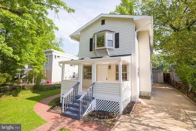 Hyattsville Single Family Home For Sale: 3902 Nicholson Street