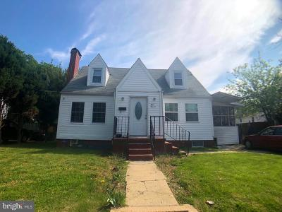 Laurel Single Family Home Active Under Contract: 111 Irving Street