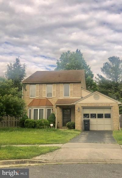 Upper Marlboro Single Family Home Under Contract: 14300 Colonel Addison Court
