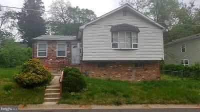 Capitol Heights Single Family Home For Sale: 4330 Urn Street