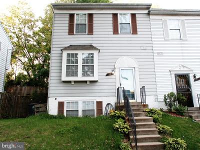 Capitol Heights Townhouse Under Contract: 915 Newington Court