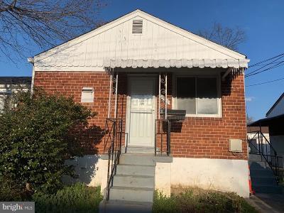 Hyattsville Rental For Rent: 7925 24th Avenue