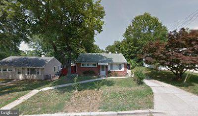 Hyattsville Single Family Home Active Under Contract: 4805 67th Avenue