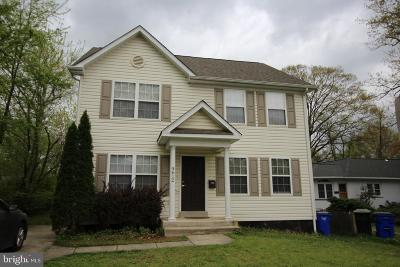 College Park Rental For Rent: 9612 51st Avenue
