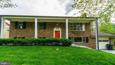 Cheltenham, Largo, Mitchellville, Springdale, Upper Marlboro Single Family Home For Sale: 8111 Rosaryville Road