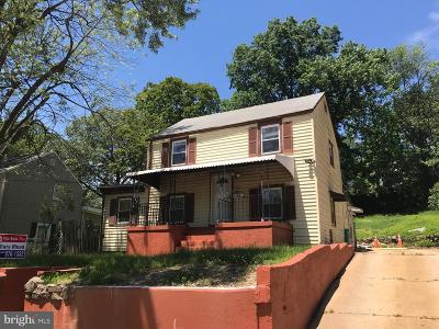 Landover Single Family Home Under Contract: 7106 Hawthorne Street